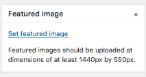 Image of Featured Image Display